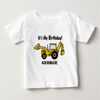 Construction Fun/ Backhoe Baby T-Shirt