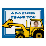 Construction Fun/ Backhoe Note Card