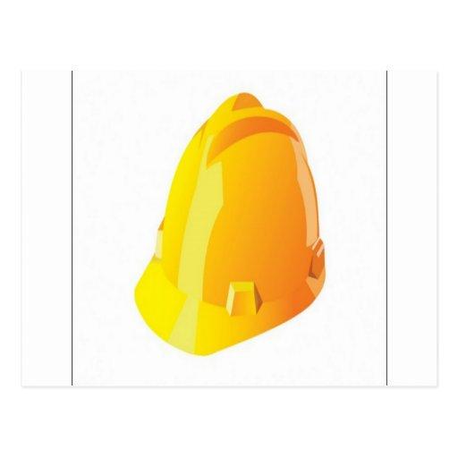 Construction helmet design post cards