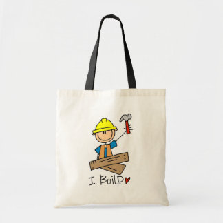 Construction I Build T-shirts and Gifts Budget Tote Bag