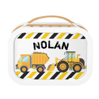 Construction Lunch box, Boys School Lunch box
