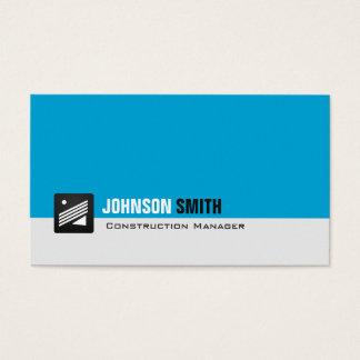 Construction Manager - Personal Aqua Blue