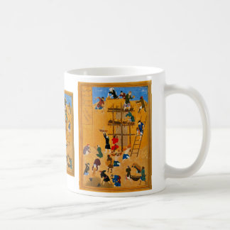 Construction Of The Fort Of Kharnaq By Kamaleddin Coffee Mug