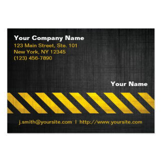 Construction Pack Of Chubby Business Cards