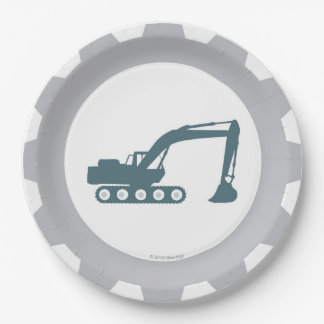 Construction Party Paper Plates 9 Inch Paper Plate