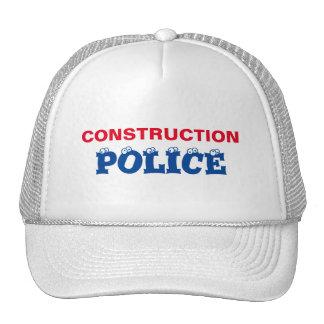 CONSTRUCTION POLICE - CUSTOMIZABLE CAP