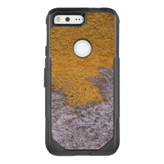 Construction Rough Beton Surface Grey Yellow OtterBox Commuter Google Pixel Case