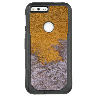 Construction Rough Beton Surface Grey Yellow OtterBox Commuter Google Pixel XL Case