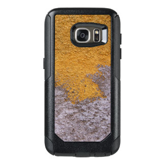 Construction Rough Beton Surface Grey Yellow OtterBox Samsung Galaxy S7 Case