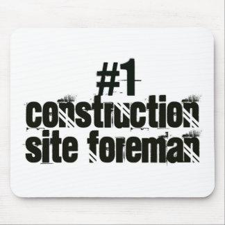 Construction Site Foreman Mouse Pad