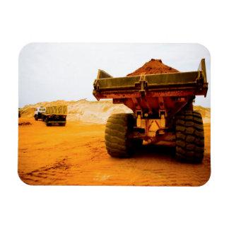 Construction Site, Luanda, Luanda Province Rectangular Photo Magnet