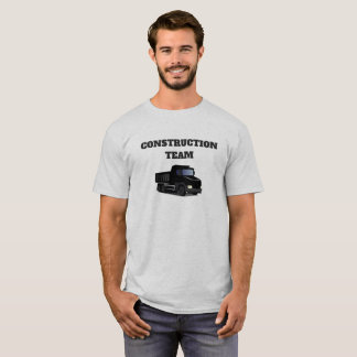 Construction Team Dump Truck Funny Novelty T-Shirt