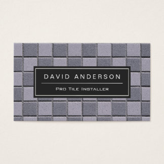 600 installation business cards and installation business for Tiler business card