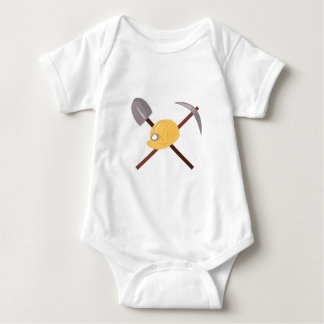 Construction Tools Baby Bodysuit