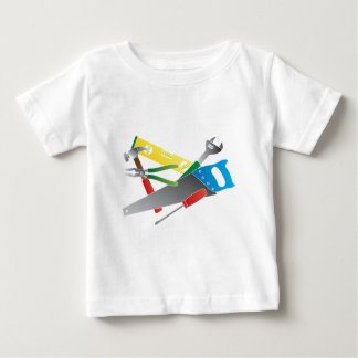 Construction Tools Colors Illustration Baby T-Shirt