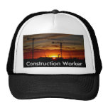 Construction Worker Mesh Hat