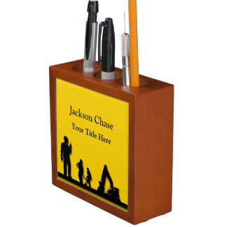 Construction Workers Equipment Desk Organizer