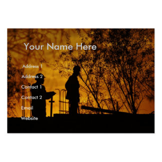 Construction Workers II Business Card Template
