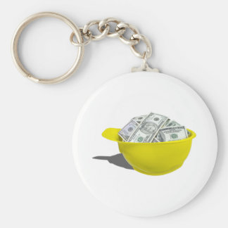 ConstructionHatFullMoney091711 Basic Round Button Key Ring