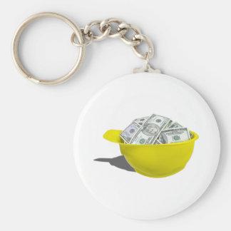 ConstructionHatFullMoney091711 Basic Round Button Key Ring