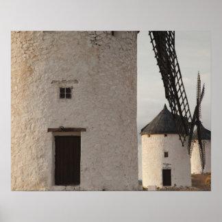 Consuegra, antique La Mancha windmills 2 Poster