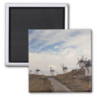 Consuegra, antique La Mancha windmills 4 Magnet