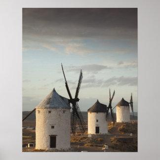 Consuegra, antique La Mancha windmills 5 Poster