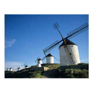 Consuegra, La Mancha, Spain, windmills 2 Postcard