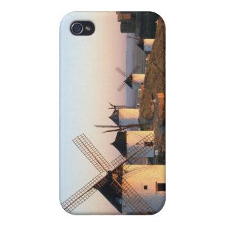 Consuegra, La Mancha, Spain, windmills iPhone 4 Case