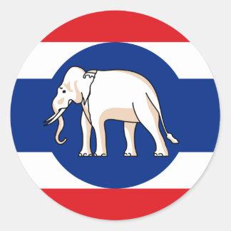Consular Thailand, Thailand Round Sticker
