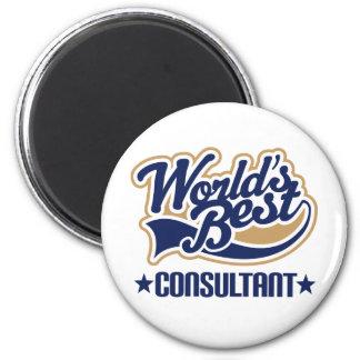 Consultant Gift 6 Cm Round Magnet