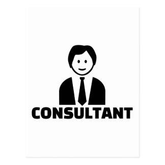 Consultant Postcard