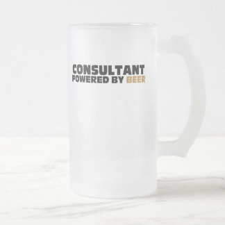 Consultant Powered By Beer Mug