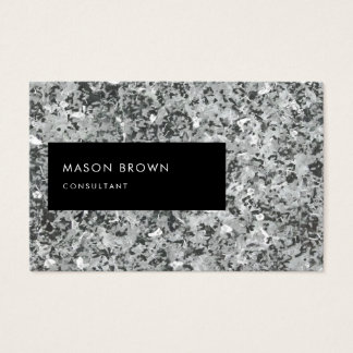Consultant Profi Modern Abstrakt Grau Business Card