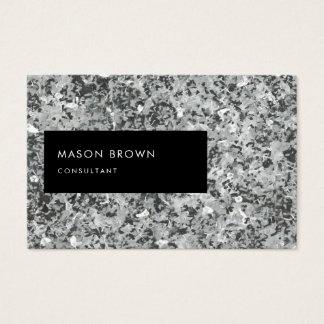 Consultant Profi Modern Abstrakt Grau Business Card