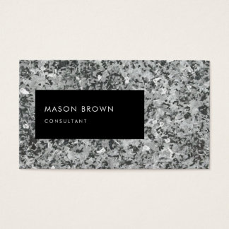 Consultant Profi Modern Abstrakte Kunst Business Card