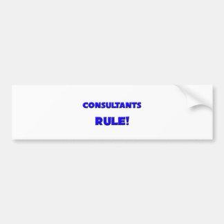 Consultants Rule Bumper Sticker