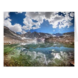 Consultation Lake 2 - Mt Whitney Trail Big Greeting Card