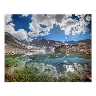 Consultation Lake 2 - Mt Whitney Trail Poster