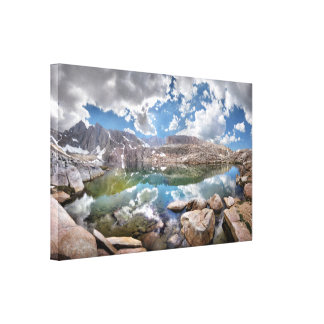 Consultation Lake 2 - Mt Whitney Trail Stretched Canvas Prints