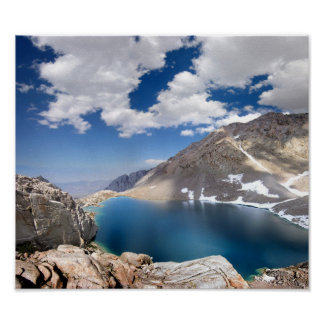 Consultation Lake - Mt Whitney Trail Poster