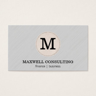 Consulting | Finance / Business II Business Card