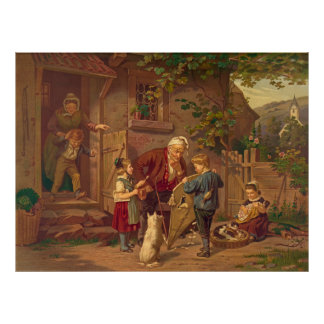Consulting Grandfather 1871 Poster