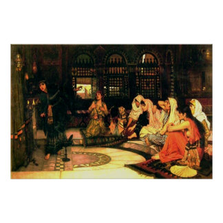 Consulting the Oracle (1882)~ Fine Art Canvas Print