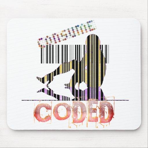 Consumer Bar Code Mouse Pad