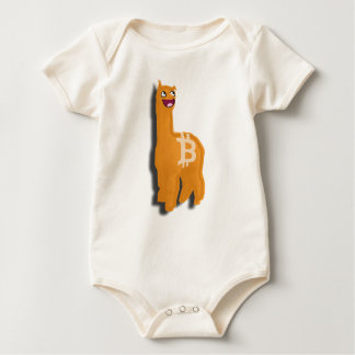 Consumer Friendly Bitcoin Alpaca (Baby Baby Bodysuit