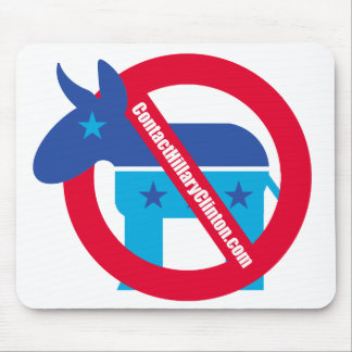 Contact Hillary Clinton Mouse Pad