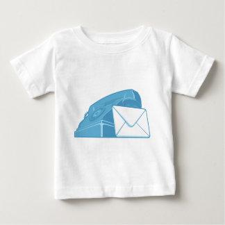 Contact Us Symbol - Phone & Mail Baby T-Shirt