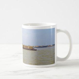 Container Barge Basic White Mug