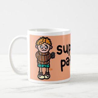 container of cuteness. basic white mug
